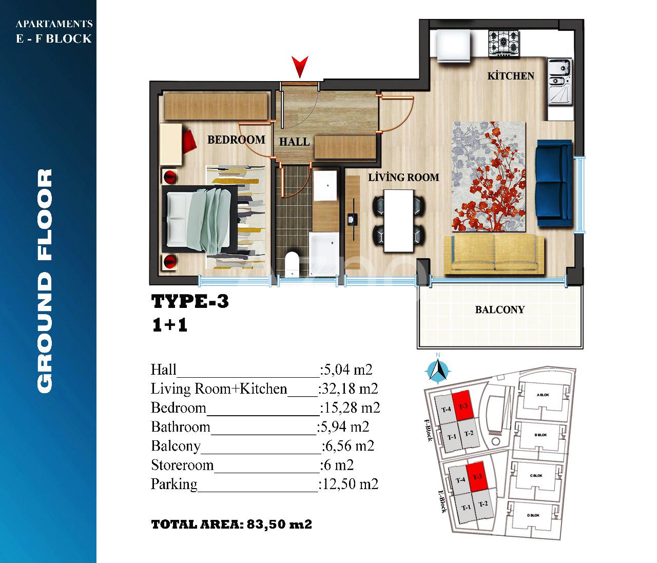 Квартиры в новом проекте в районе Лара Анталия - Фото 21