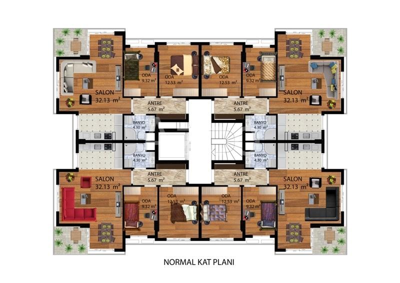 Новый комплекс в районе Коньяалты - Фото 8