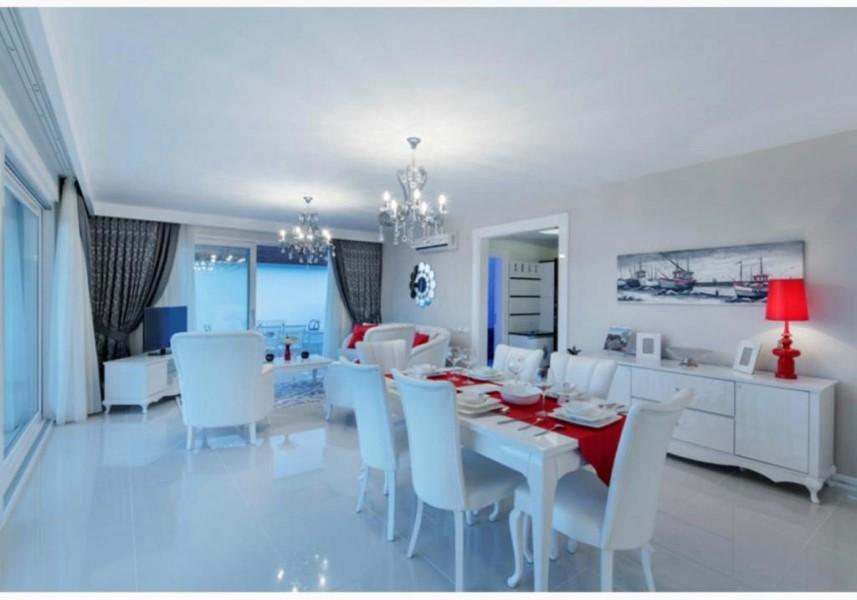 Просторная вилла 3+1 с мебелью в районе Каргыджак - Фото 23