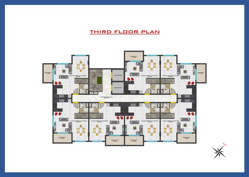 Новый проект жилого комплекса в районе Оба - Фото 38