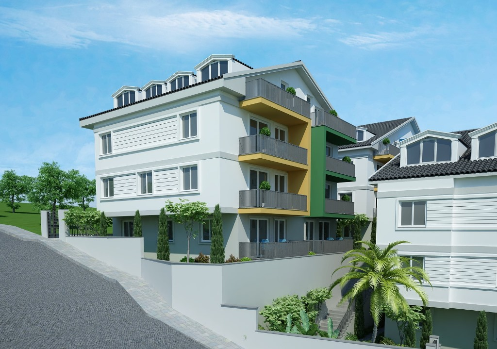 Двухкомнатные квартиры в строящемся комплексе Фетхие - Фото 13
