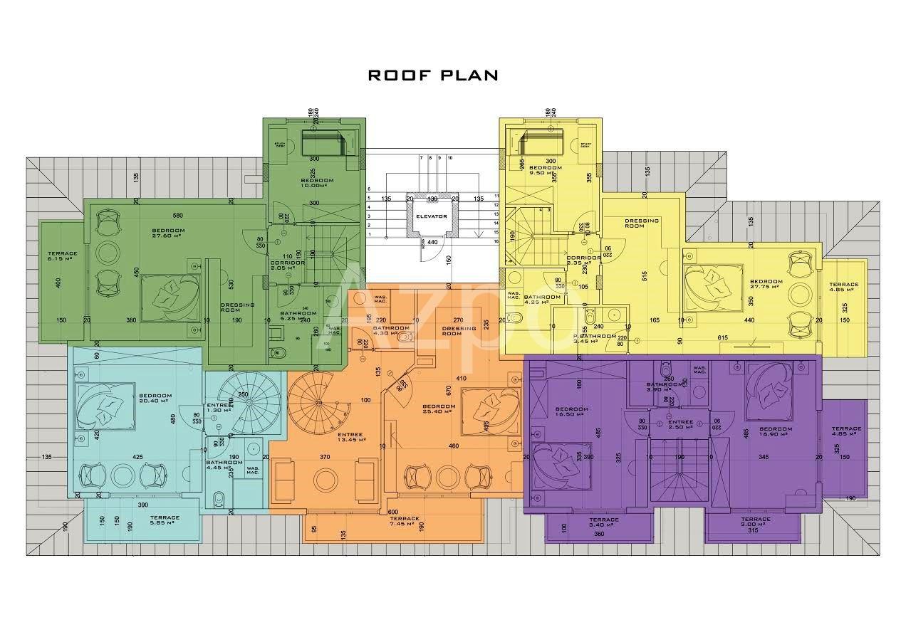 Квартиры и пентхаусы в центре Алании - Фото 22