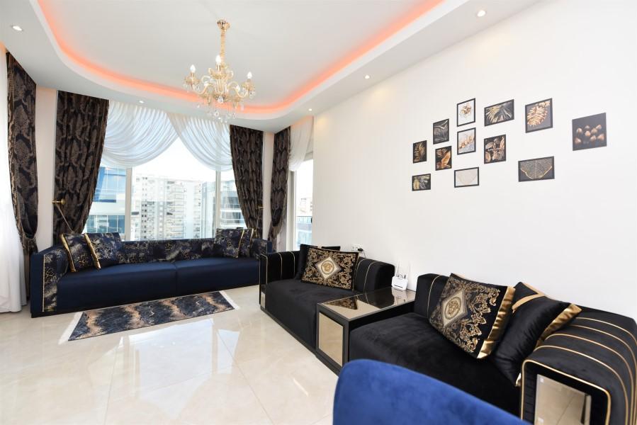 Трёхкомнатная квартира с мебелью в районе Махмутлар - Фото 15
