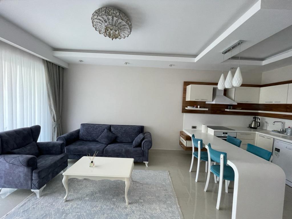 Меблированная квартира 1+1 в посёлке Авсаллар - Фото 7