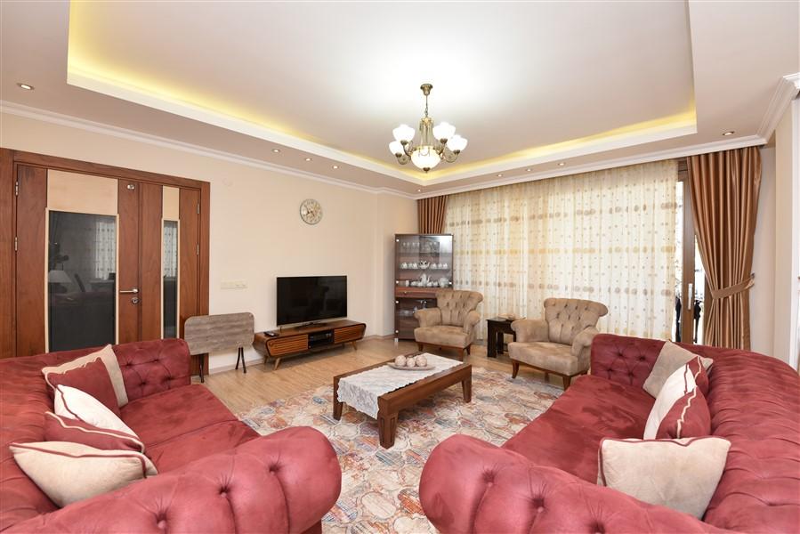 Просторная квартира 3+1 с мебелью в Аланье - Фото 8
