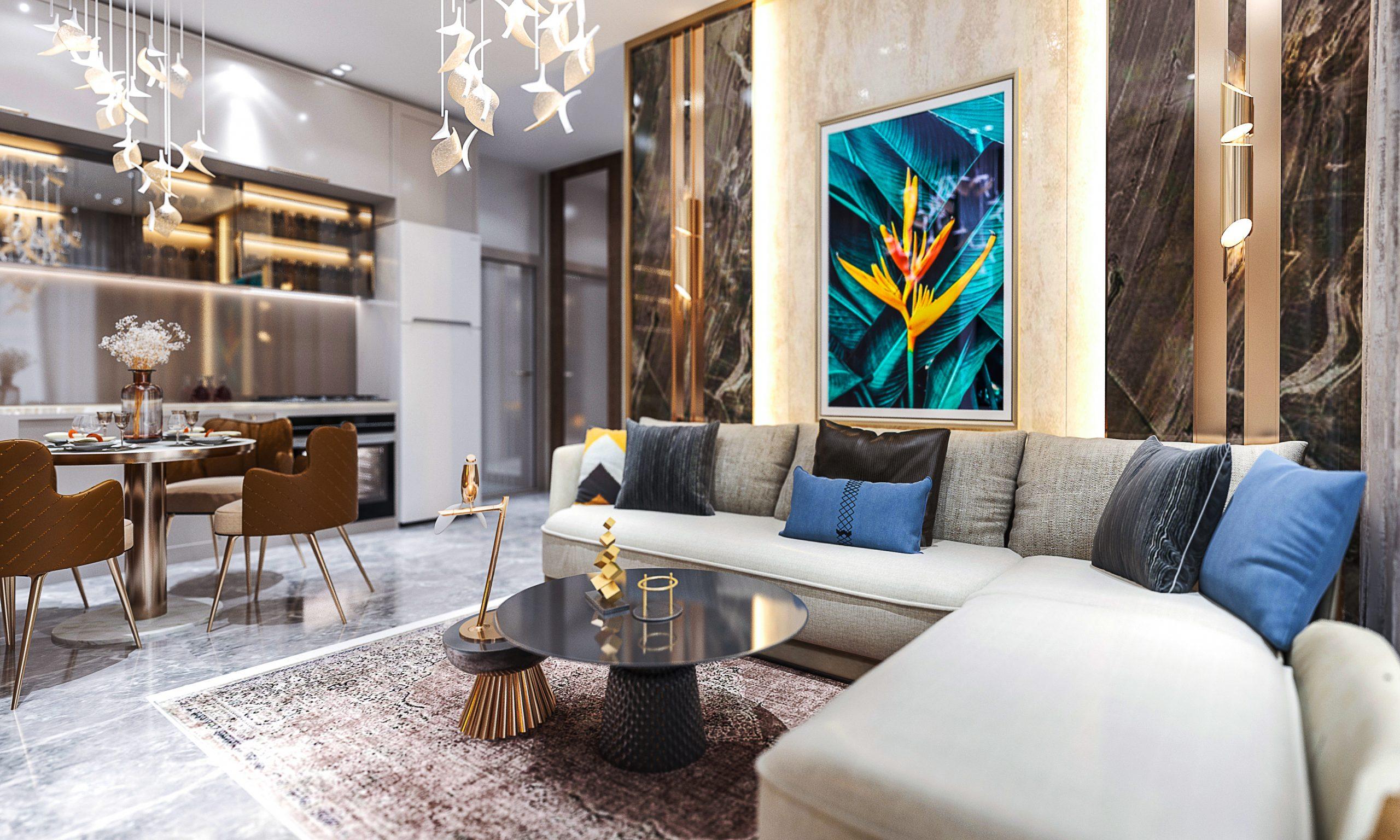 Новые квартиры в центральном районе Аланьи - Фото 14