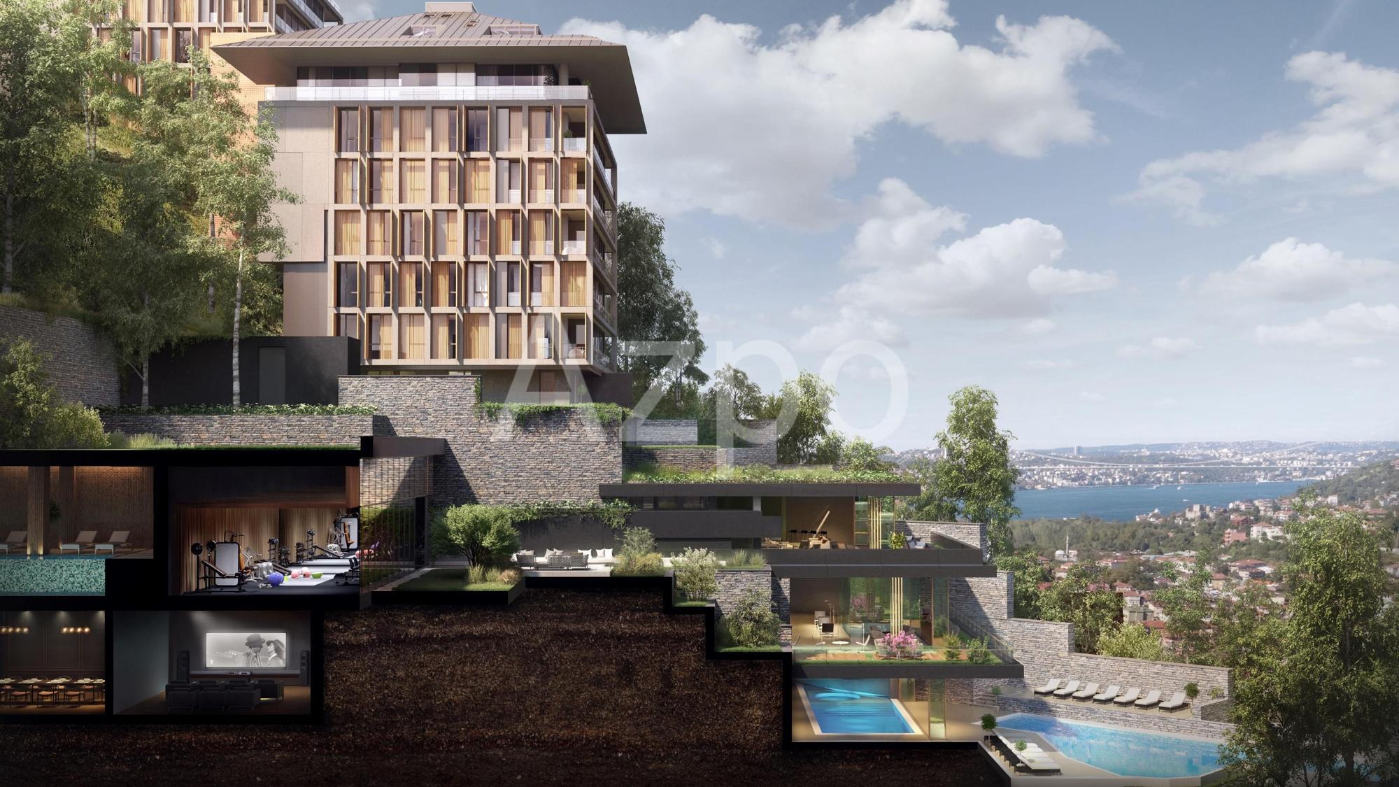 Проект с видом на Босфор в элитном районе Ускюдар - Фото 1