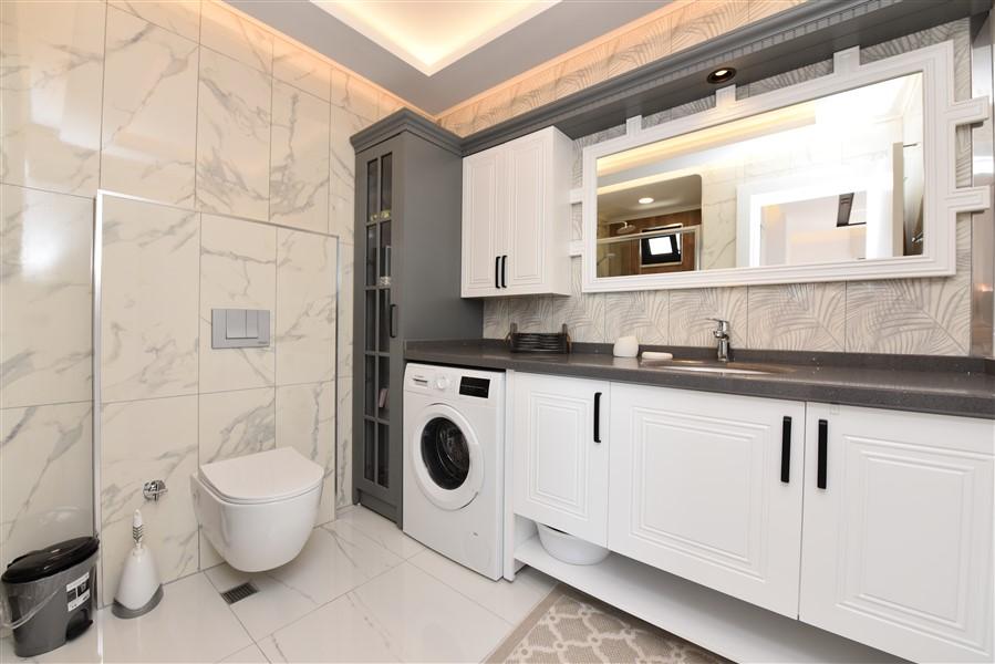 Роскошная меблированная квартира 3+1 в центральном районе Аланьи - Фото 33