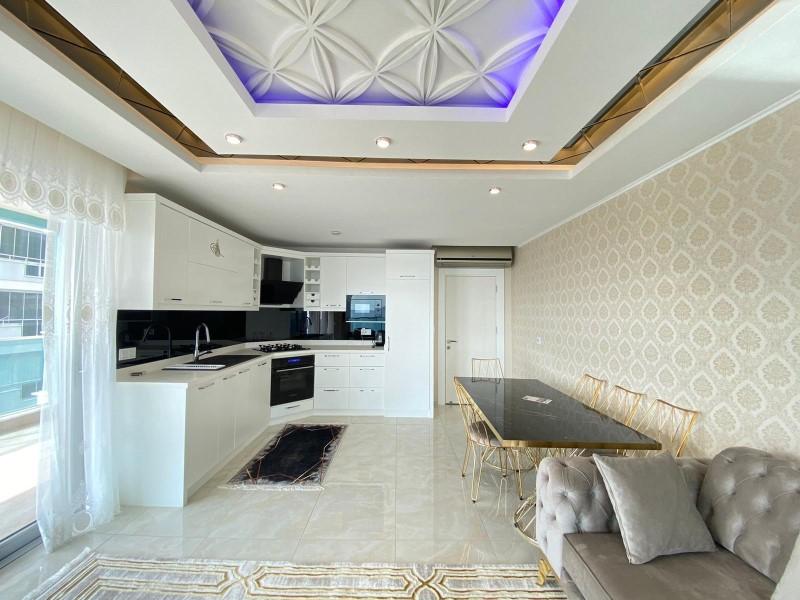 Меблированная квартира 2+1 с видом на Средиземное море - Фото 12