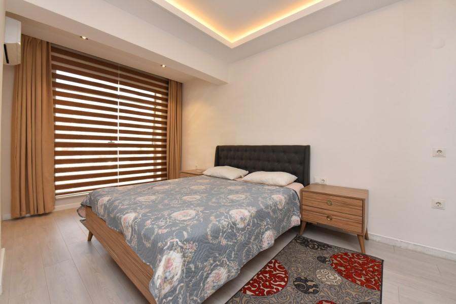 Двухкомнатная квартира с мебелью в центре Аланьи - Фото 18