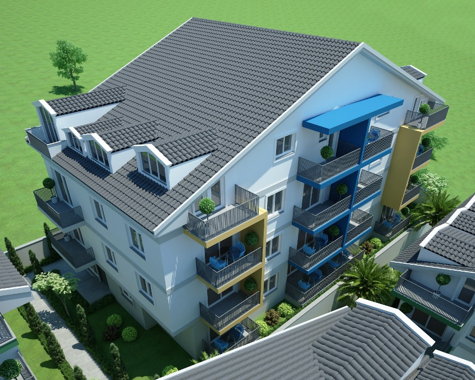 Двухкомнатные квартиры в строящемся комплексе Фетхие - Фото 6