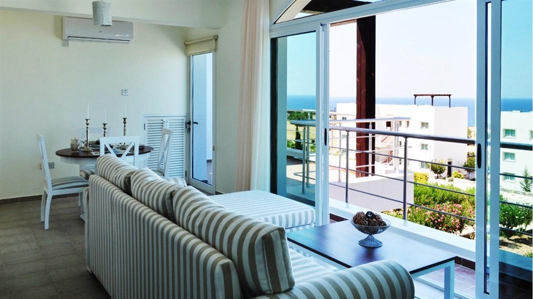 Двухуровневая квартира 2+1 в Кирении по доступной цене - Фото 8