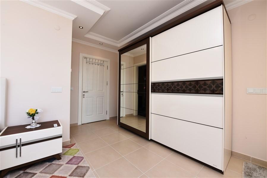 Двухуровневая вилла 3+1 с мебелью в районе Каргыджак - Фото 30