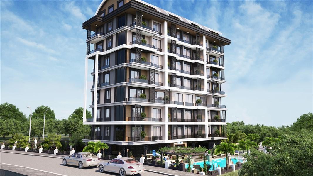 Современные квартиры и пентхаусы в посёлке Авсаллар - Фото 3