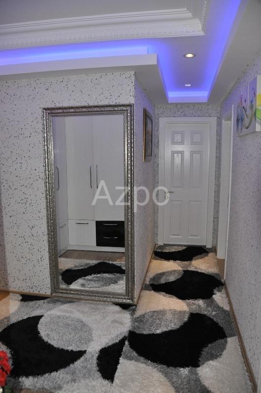 Трехкомнатная меблированная квартира в центре Аланьи - Фото 9