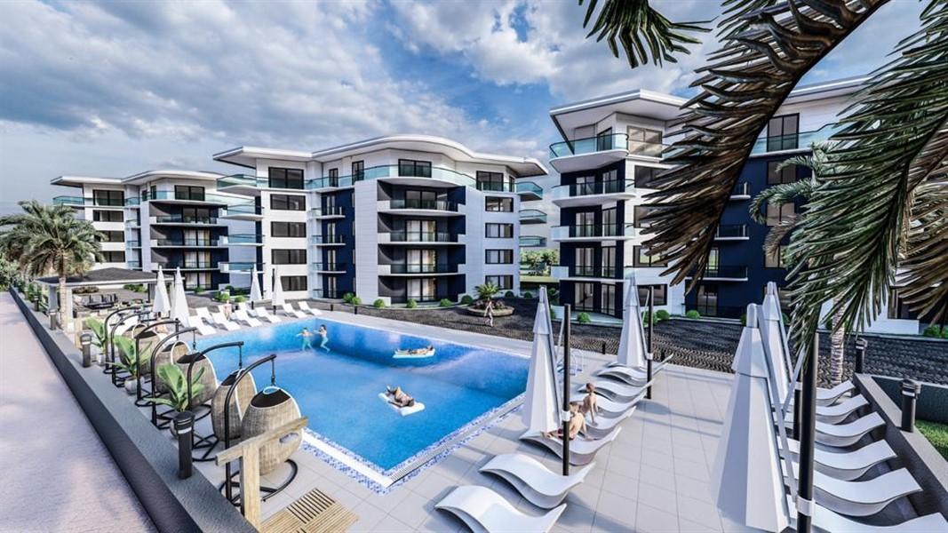 Роскошные видовые квартиры в Махмутларе - Фото 9