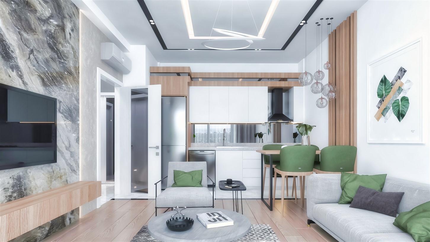Современные квартиры в элитном комплексе Антальи - Фото 34