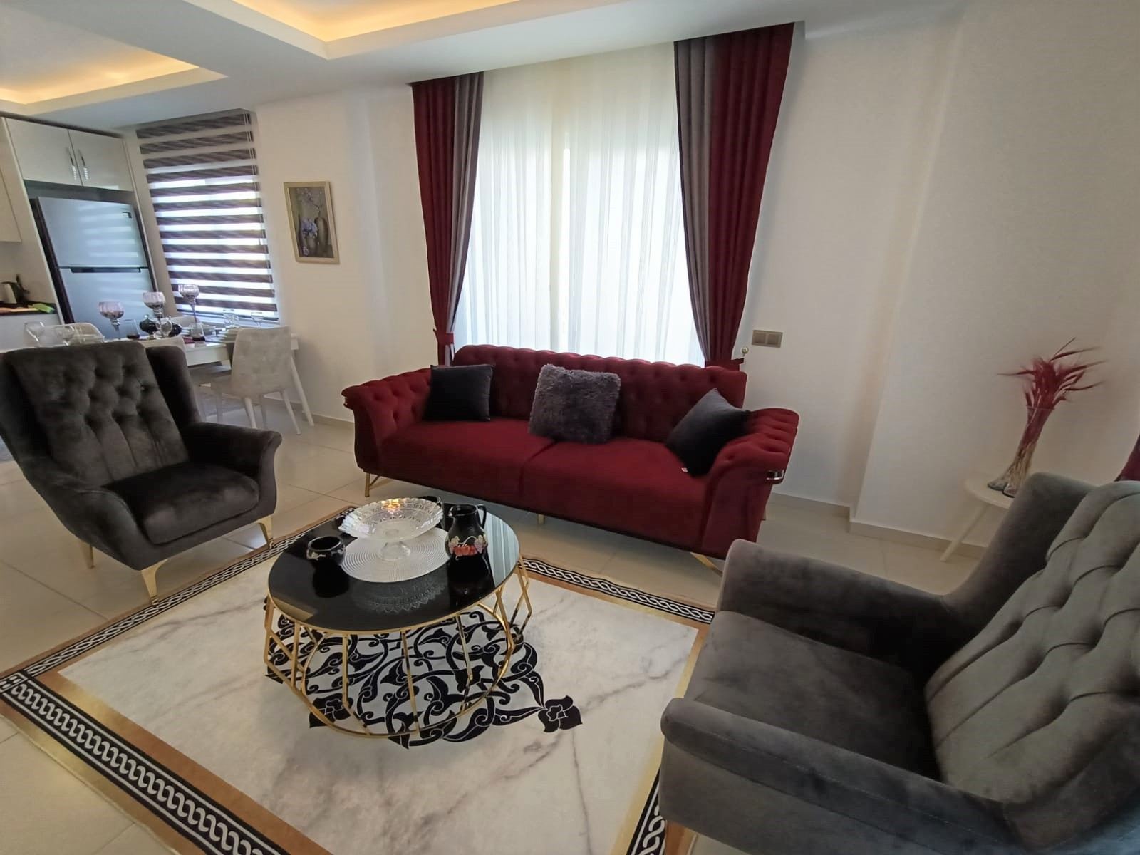Двухкомнатная квартира с мебелью в районе Махмутлар - Фото 7