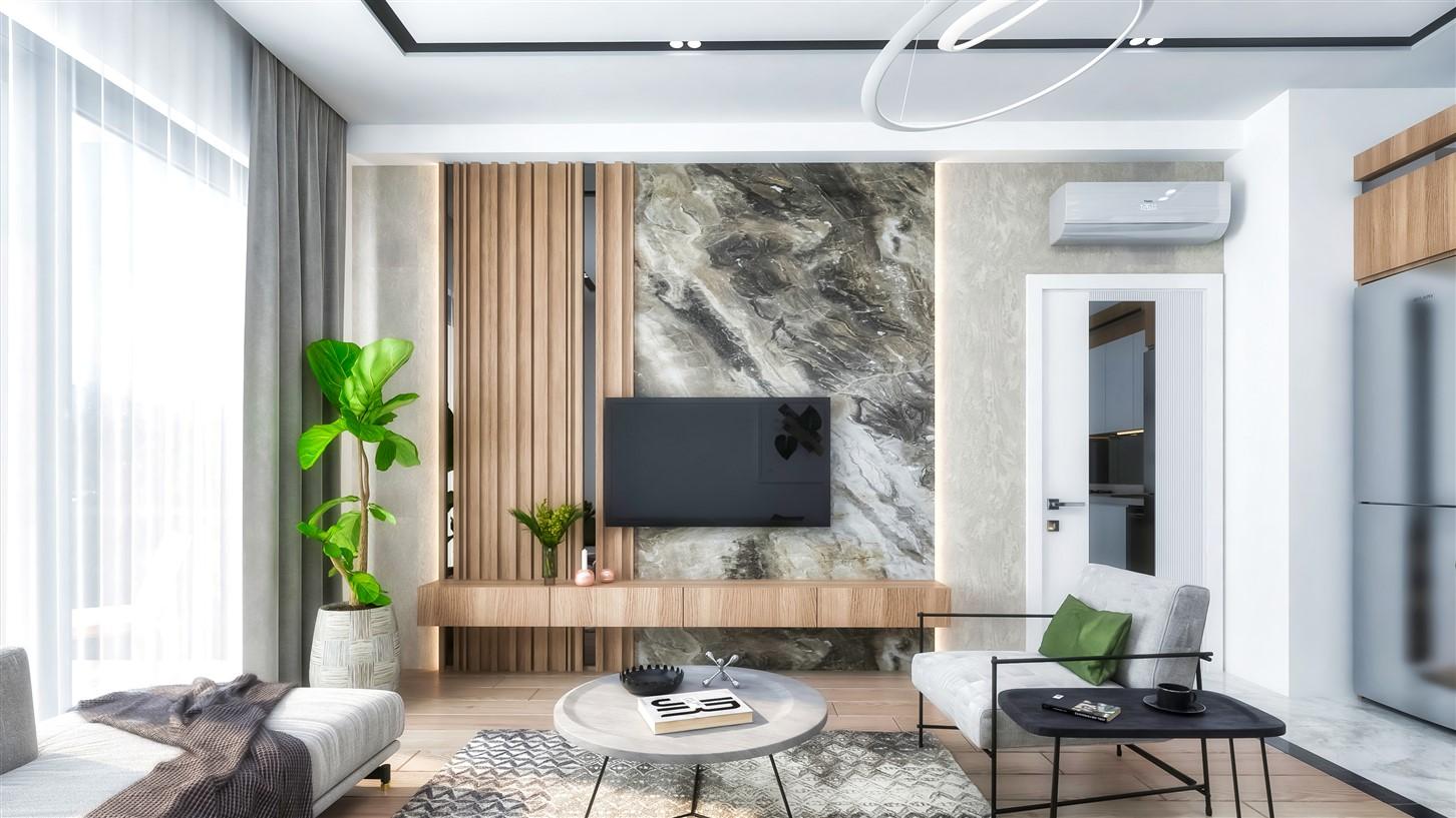 Современные квартиры в элитном комплексе Антальи - Фото 35