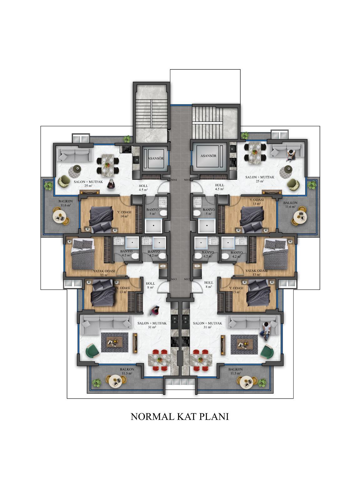 Квартиры в инвестиционном проекте по ценам застройщика - Фото 31
