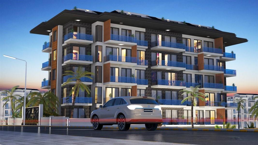Жилой комплекс на этапе строительства в районе Кестель - Фото 4