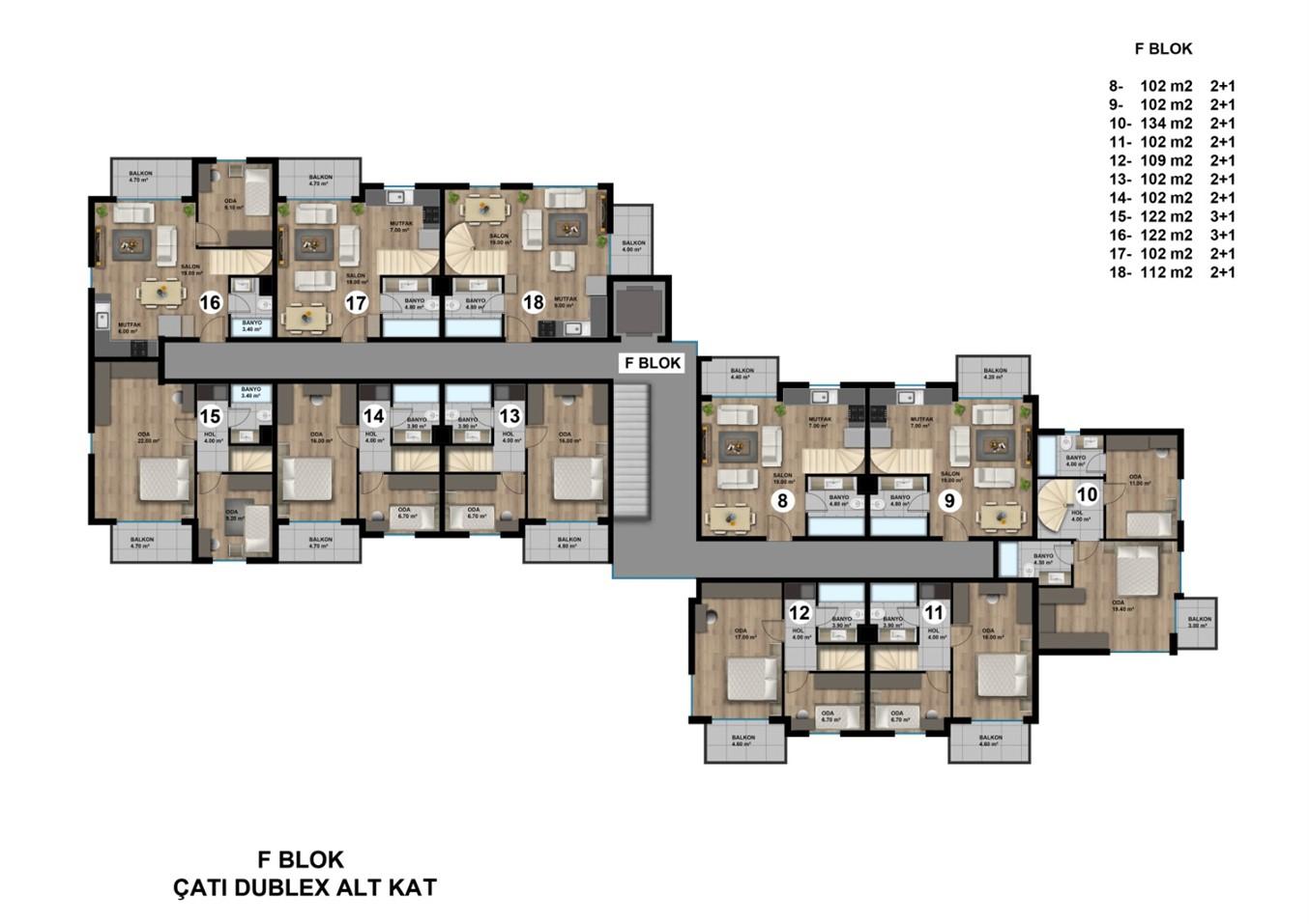 Роскошные квартиры в новом жилом комплексе с инфраструктурой - Фото 22