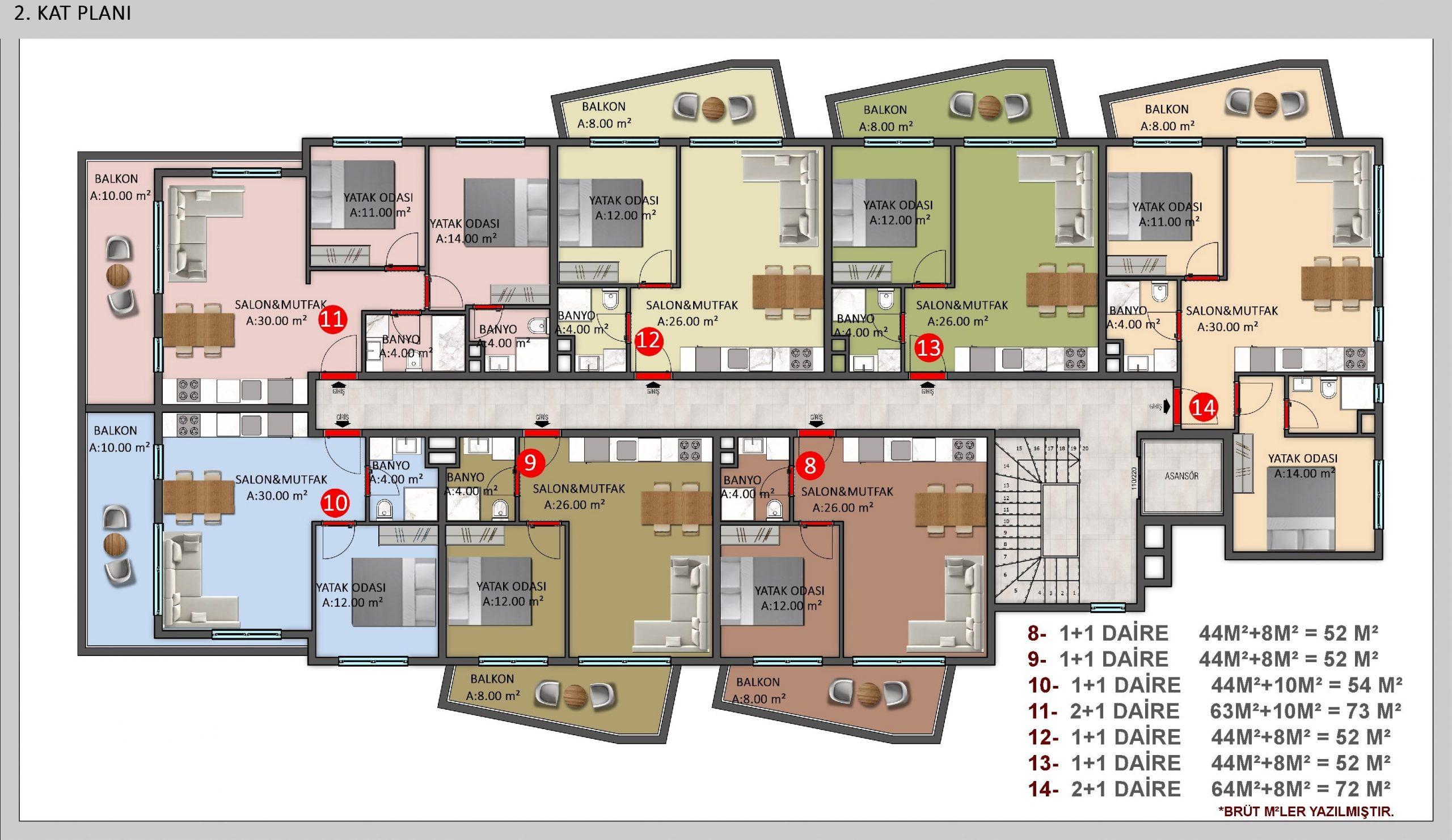 Новые квартиры на побережье Средиземного моря - Фото 12