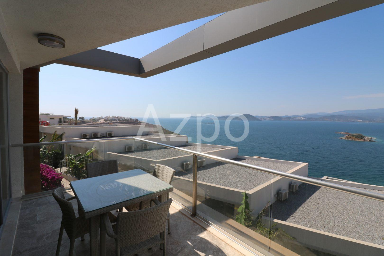 Квартира дуплекс в Бодруме с видом на море - Фото 15