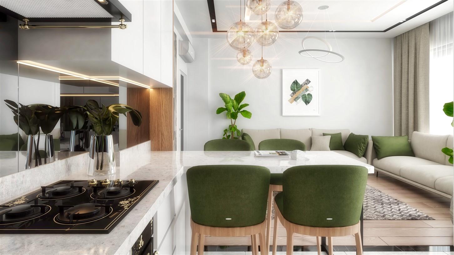 Современные квартиры в элитном комплексе Антальи - Фото 47