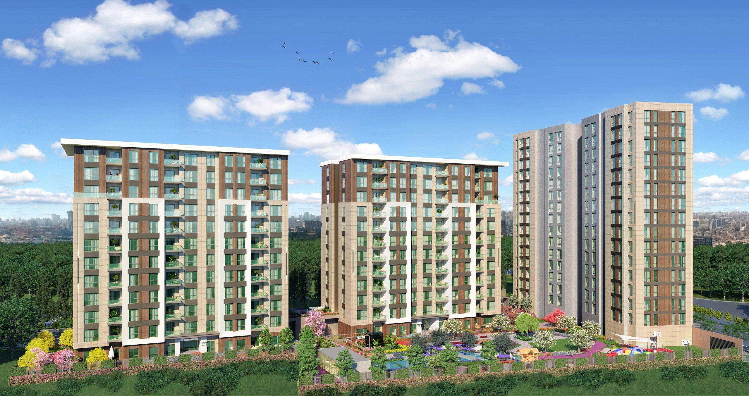 Современные квартиры различных планировок в районе Зейтинбурну - Фото 1