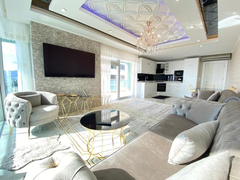 Меблированная квартира 2+1 с видом на Средиземное море - Фото 11