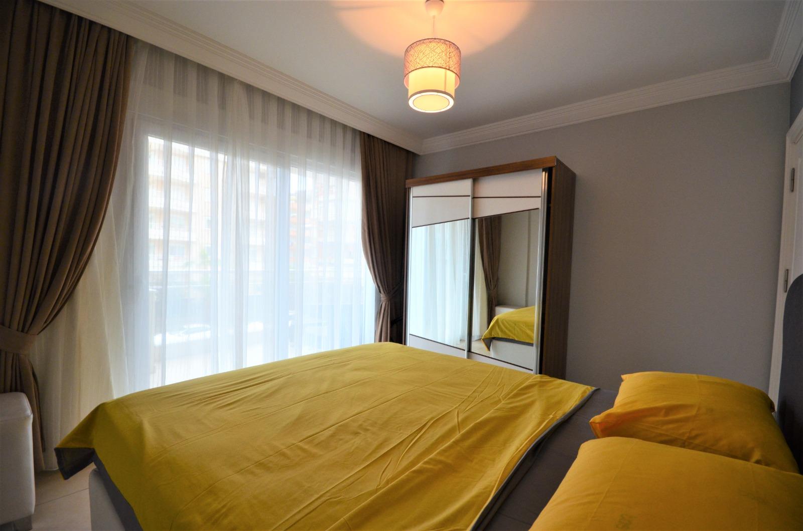 Двухкомнатная квартира с мебелью и бытовой техникой в районе Тосмур - Фото 12