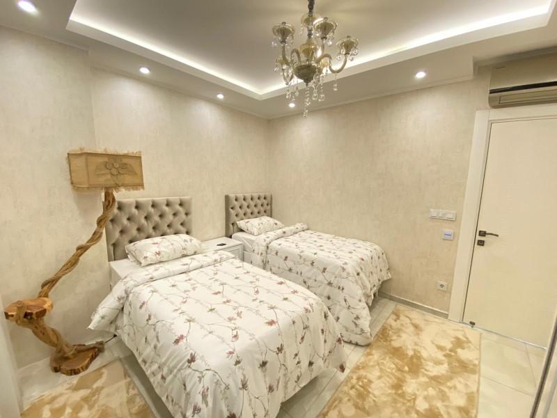 Меблированная квартира 2+1 с видом на Средиземное море - Фото 30