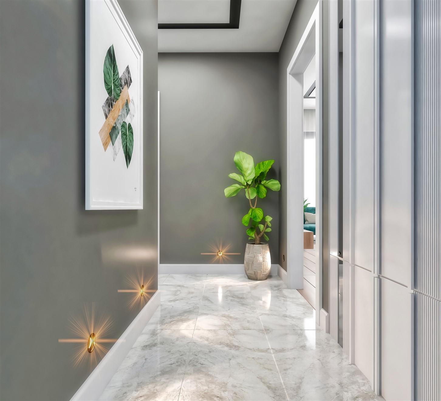 Современные квартиры в элитном комплексе Антальи - Фото 61