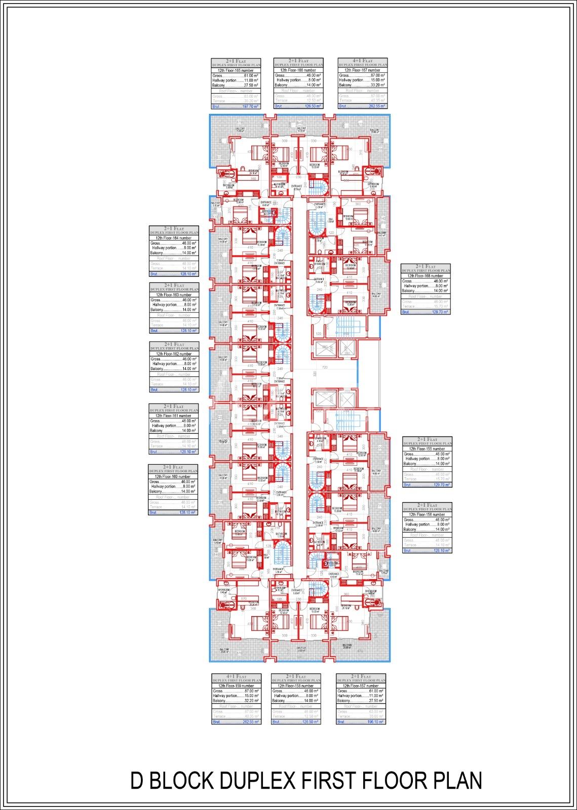 Квартиры всех типов планировок в Махмутларе - Фото 16