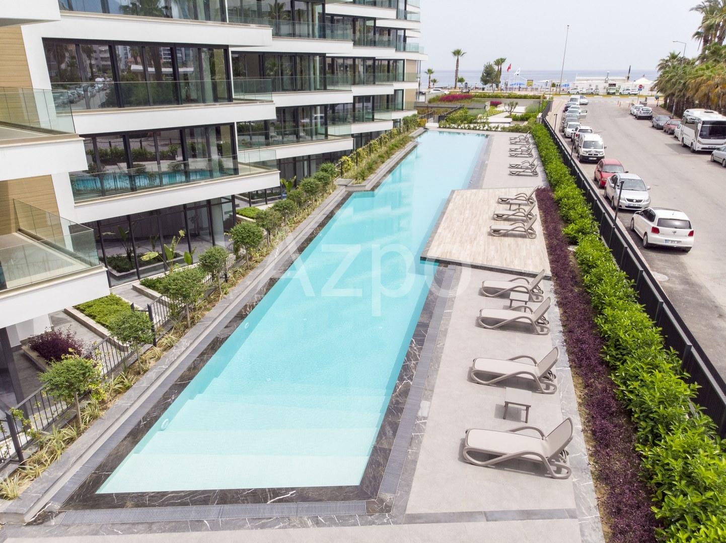 Апартаменты с панорамным видом на Средиземное море - Фото 6