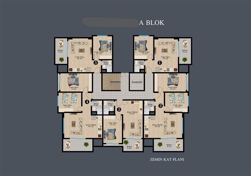 Современные квартиры в строящемся жилом комплексе - Фото 39