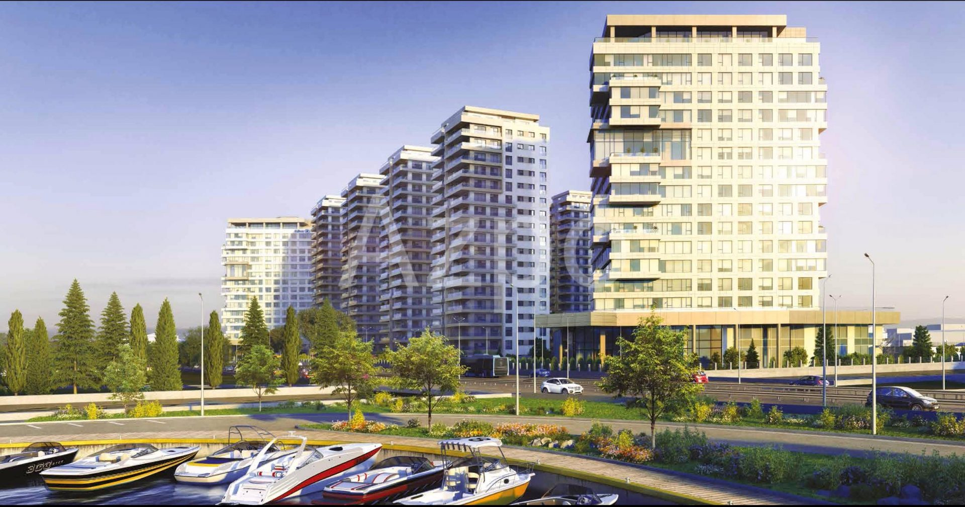 Квартиры в новом жилом комплексе у берега Мраморного моря - Фото 1