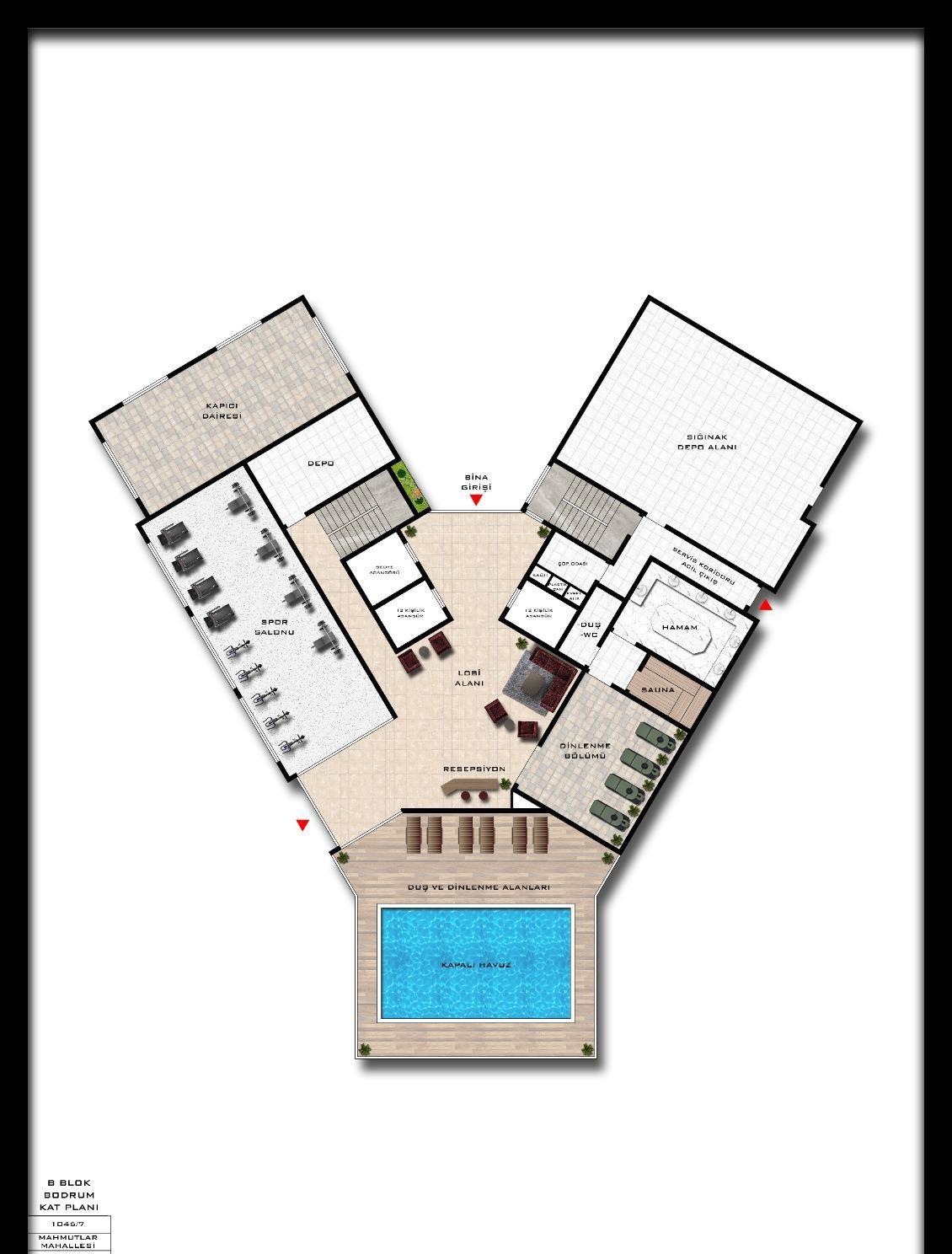 Квартиры и пентхаусы в комплексе с богатой инфраструктурой район Махмутлар - Фото 19