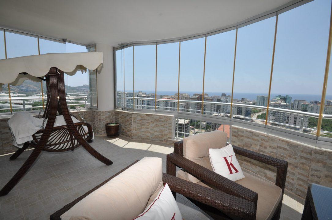 Меблированная квартира 2+1 с видом на море - Фото 26