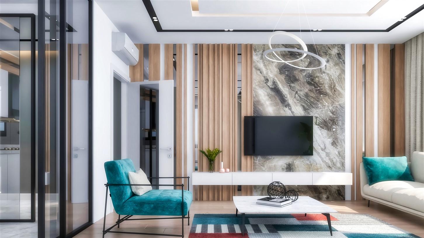 Современные квартиры в элитном комплексе Антальи - Фото 70