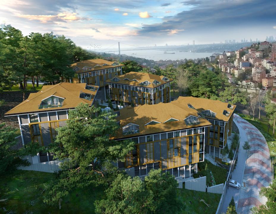 Новый комплекс с видом на пролив Босфор - Фото 8