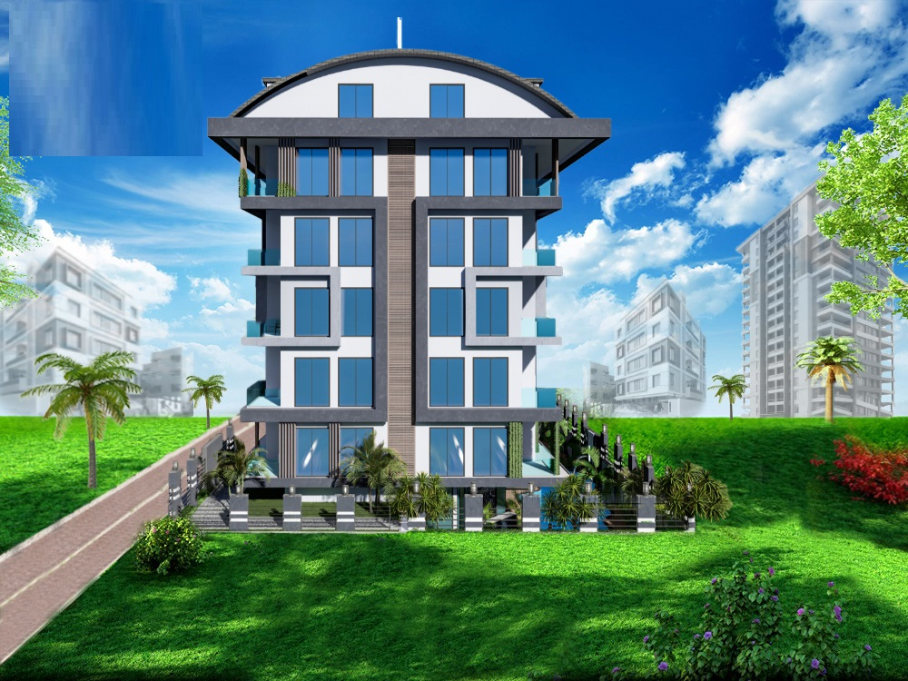 Новые квартиры в центральном районе Аланьи - Фото 1