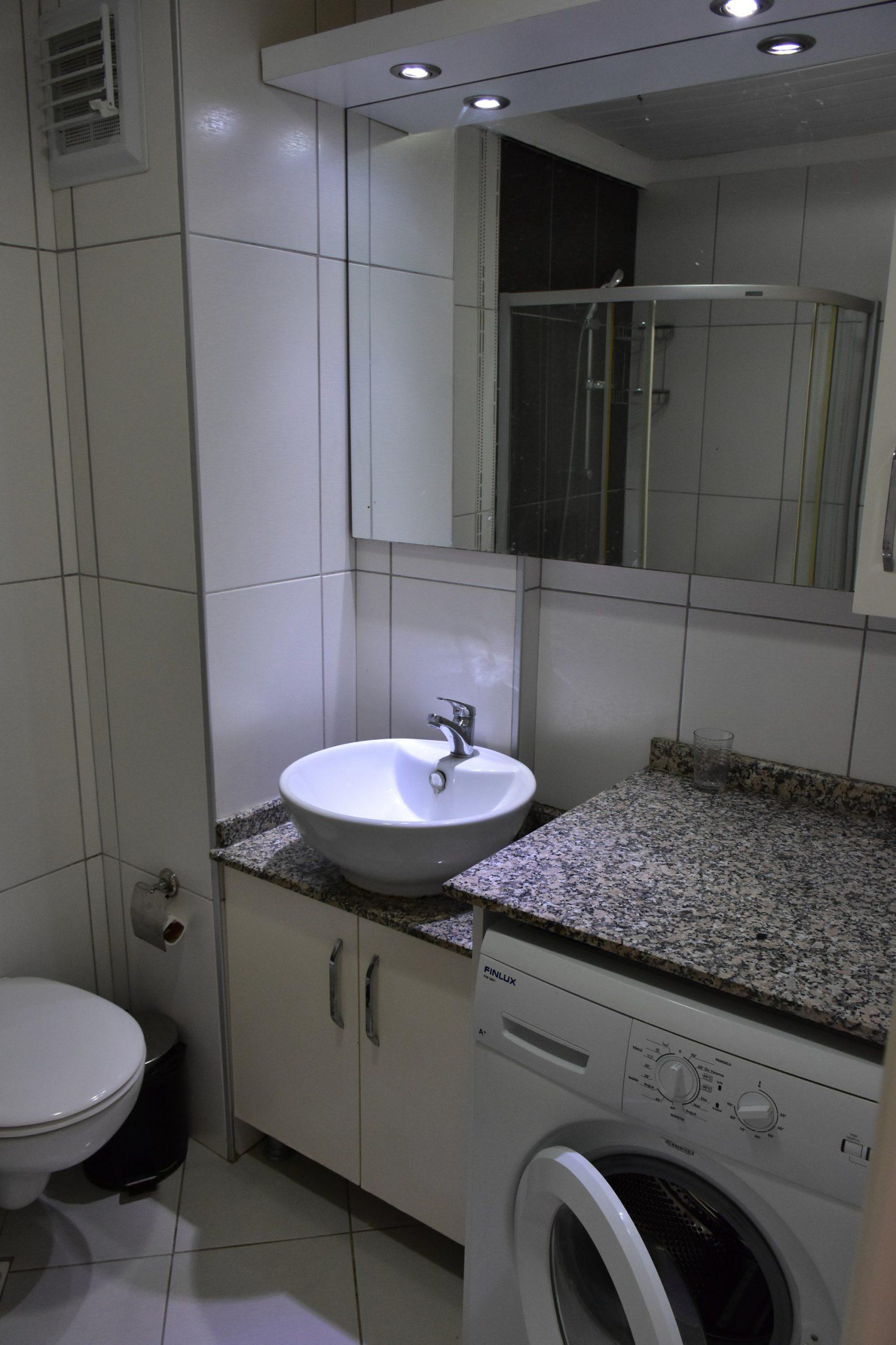 Двухкомнатная квартира с мебелью в посёлке Авсаллар - Фото 17