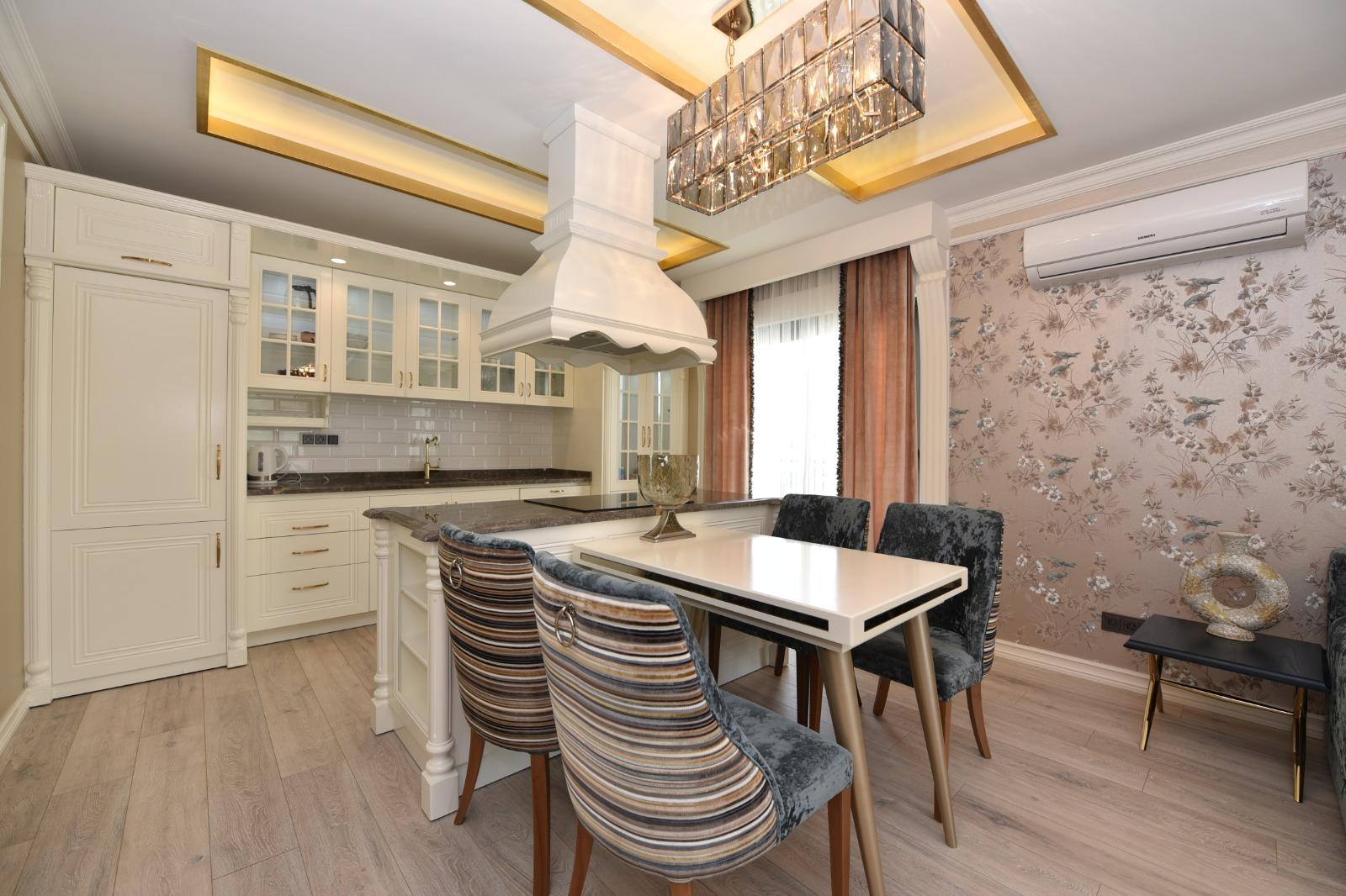 Роскошная трёхкомнатная квартира с мебелью - Фото 17