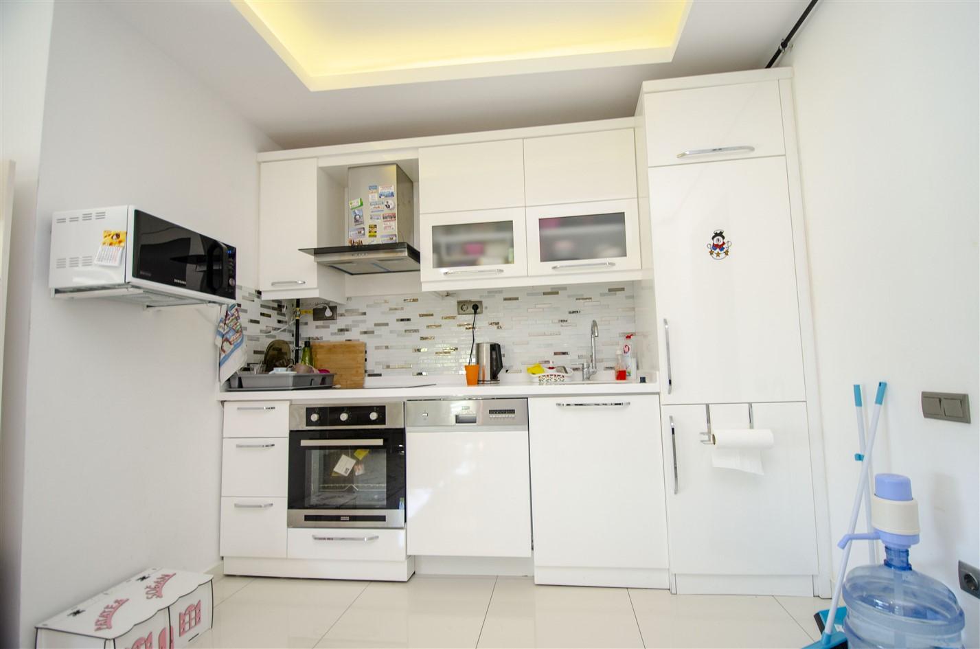 Меблированная квартира 1+1 в районе Коньяалты - Фото 24