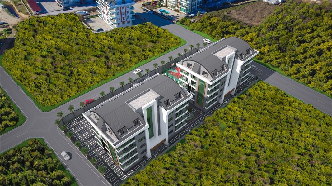Квартиры в строящемся жилом комплексе район Оба - Фото 4