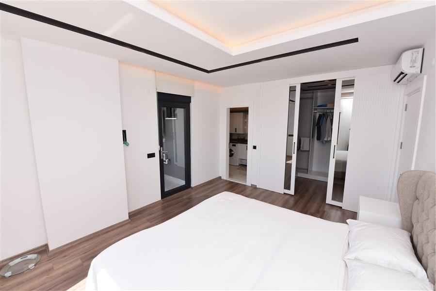 Роскошная меблированная квартира 3+1 в центральном районе Аланьи - Фото 32