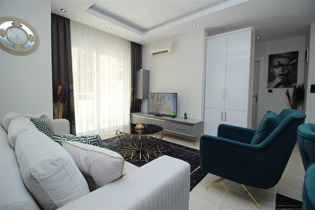 Двухкомнатная квартира с мебелью в Махмутларе - Фото 5