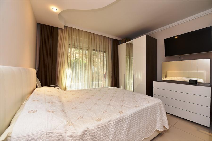 Меблированные апартаменты 2+1 у моря в Конаклы - Фото 29